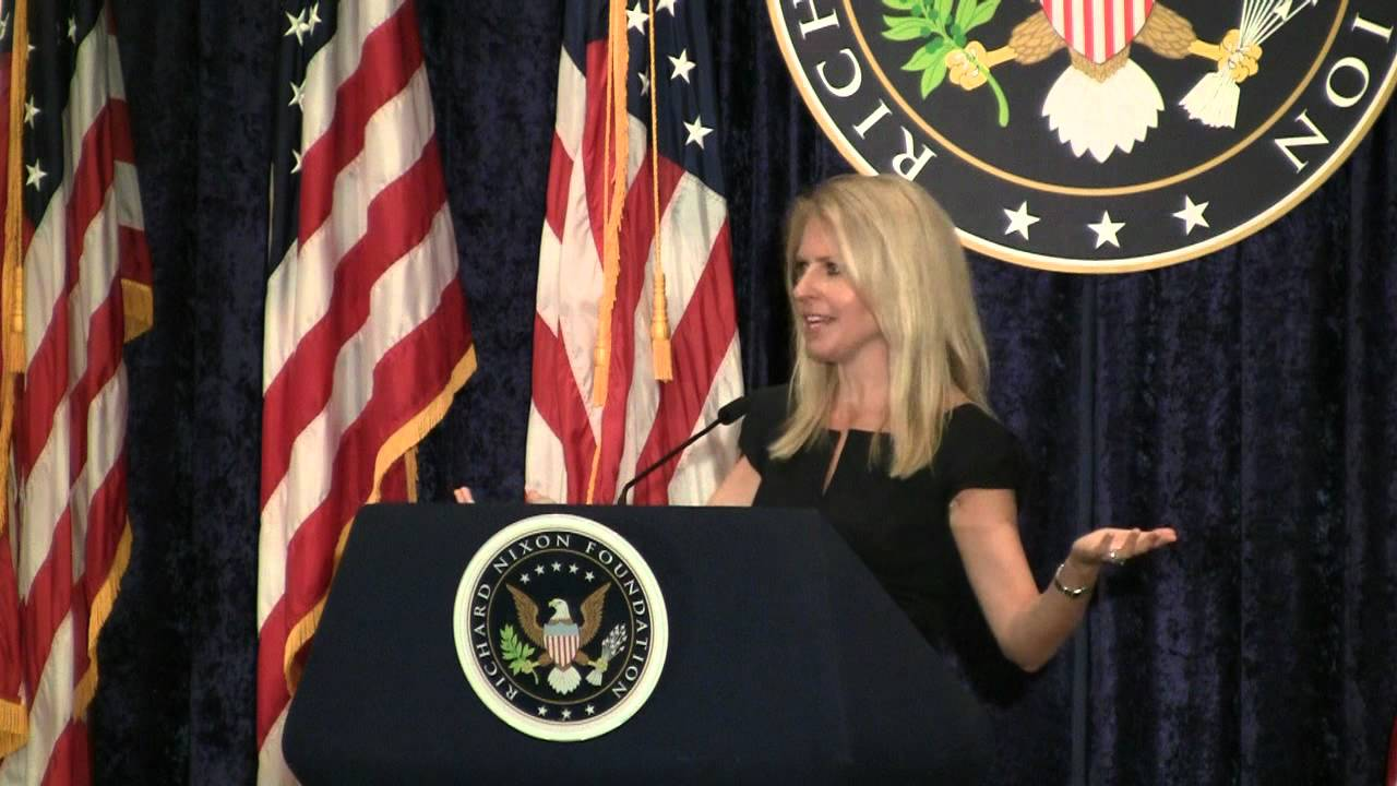Monica Crowley at the Nixon Library