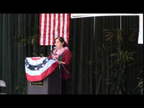 Nicole Lowen Hawaii County Democratic Convention