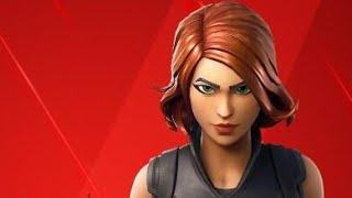 Fortnite- Black Widow skin doesnt take fall Damage