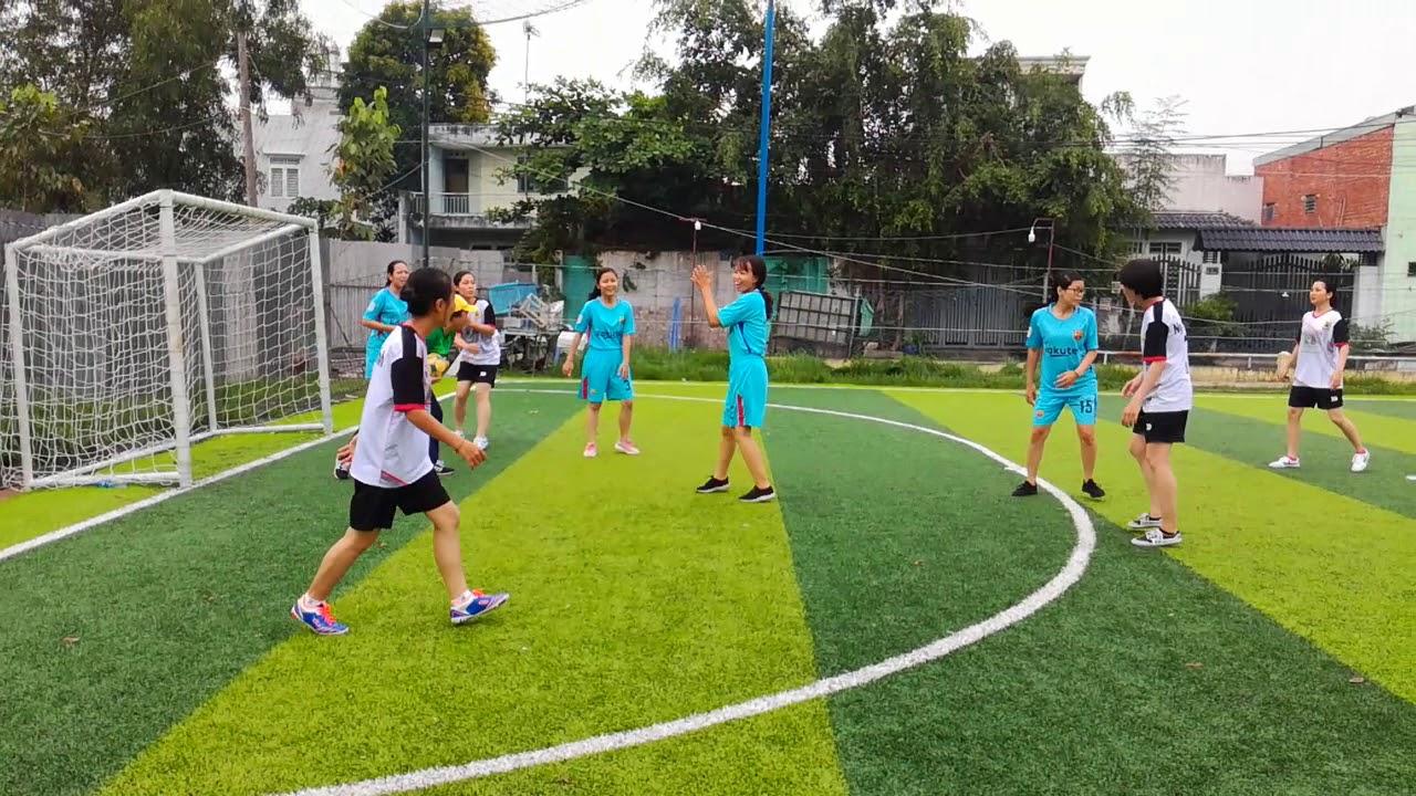 bóng đá nữ Bình Khánh 2018