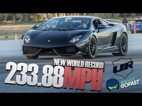 Underground Racing 233.88 mph World Record Half Mile @ WannaGoFast Florida