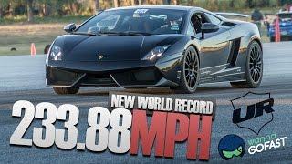 Underground Racing 233.88 mph World Record Half Mile @ WannaGoFast Florida