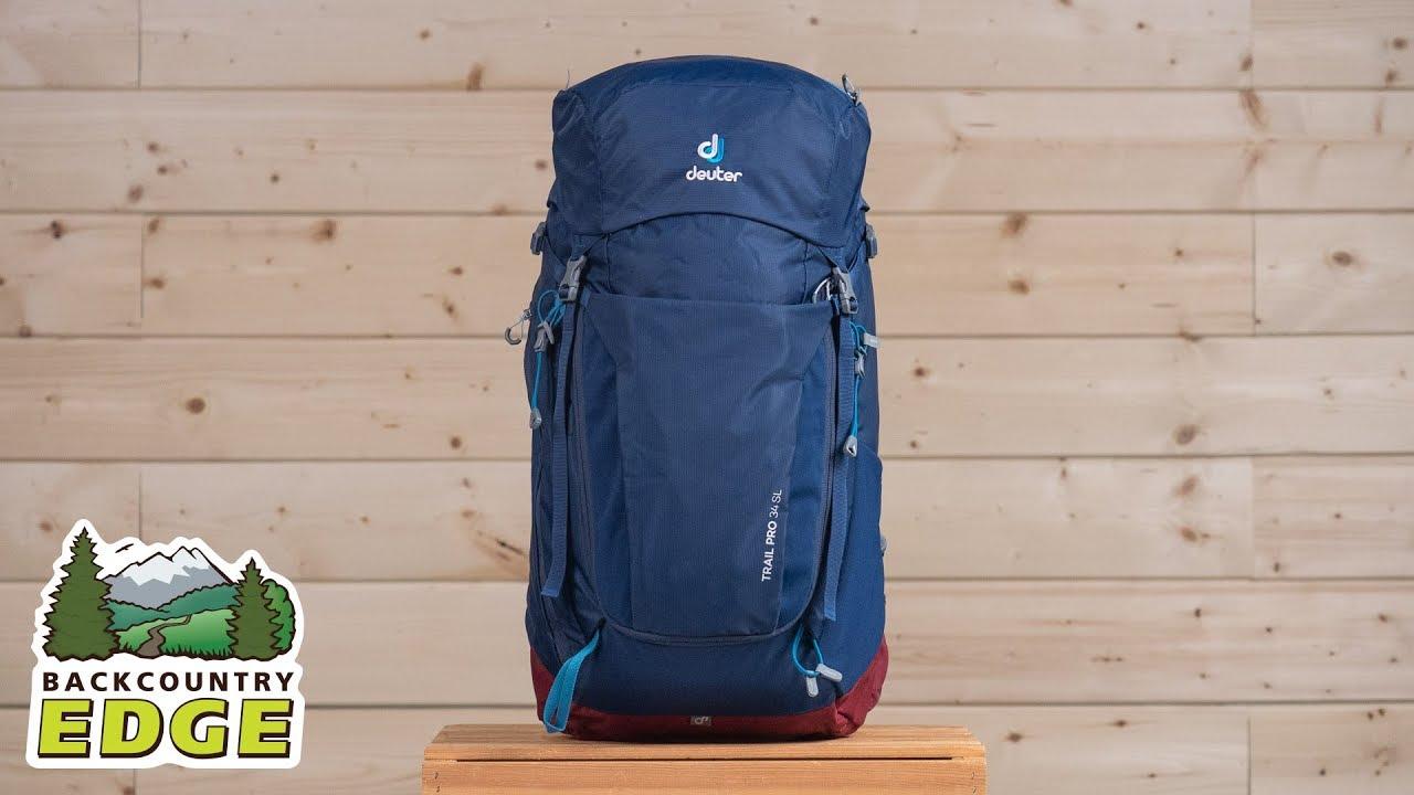 56cca8a446f1 Deuter Trail Pro 34 SL Women's Internal Frame Backpack