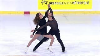 Габриэлла Пападакис - Гийом Сизерон. Произвольный танец. Internationaux de France