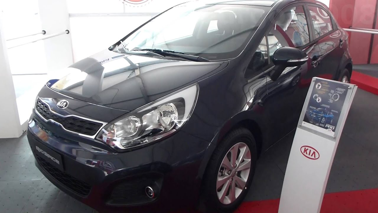 2014 kia rio spice hatchback 2014 al 2015 video versi n colombia youtube. Black Bedroom Furniture Sets. Home Design Ideas