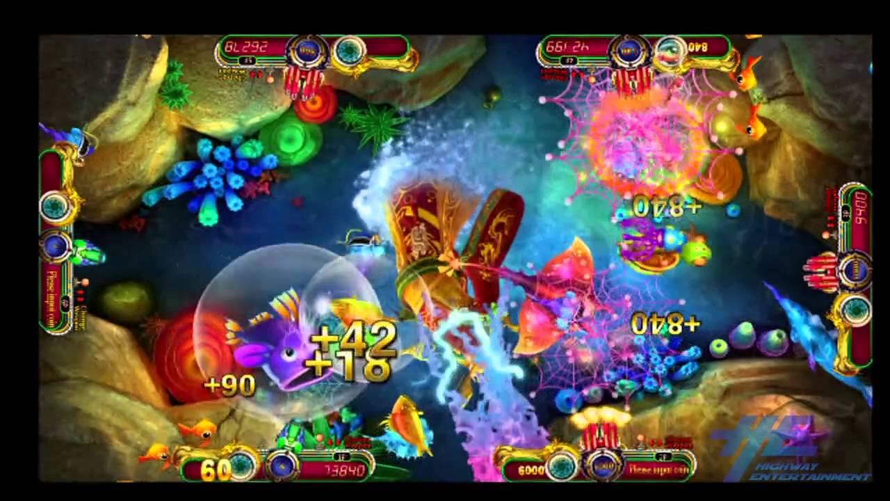 China Sea Dragon King Gameplay - Fish Hunting Arcade Game ...