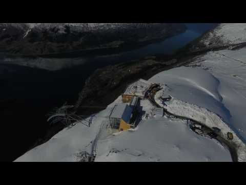 Gondol lift, Loen, Stryn Norway