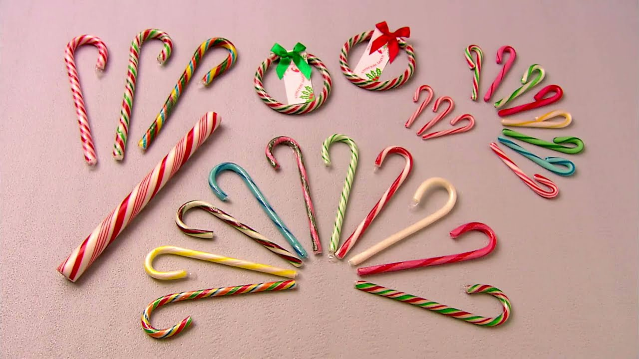 candy canes how it s made youtube