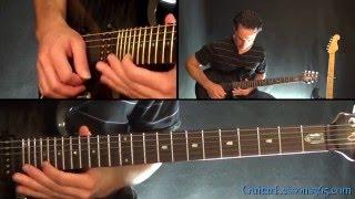 Metallica - Blackened Guitar Solo Lesson (Second Solo)