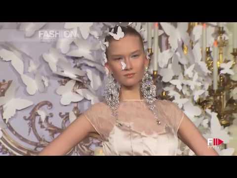 ALEXIS MABILLE Haute Couture Spring 2014 Paris - Fashion Channel