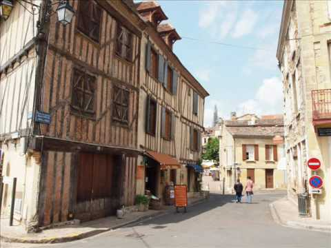 Beautiful villages in Perigord France