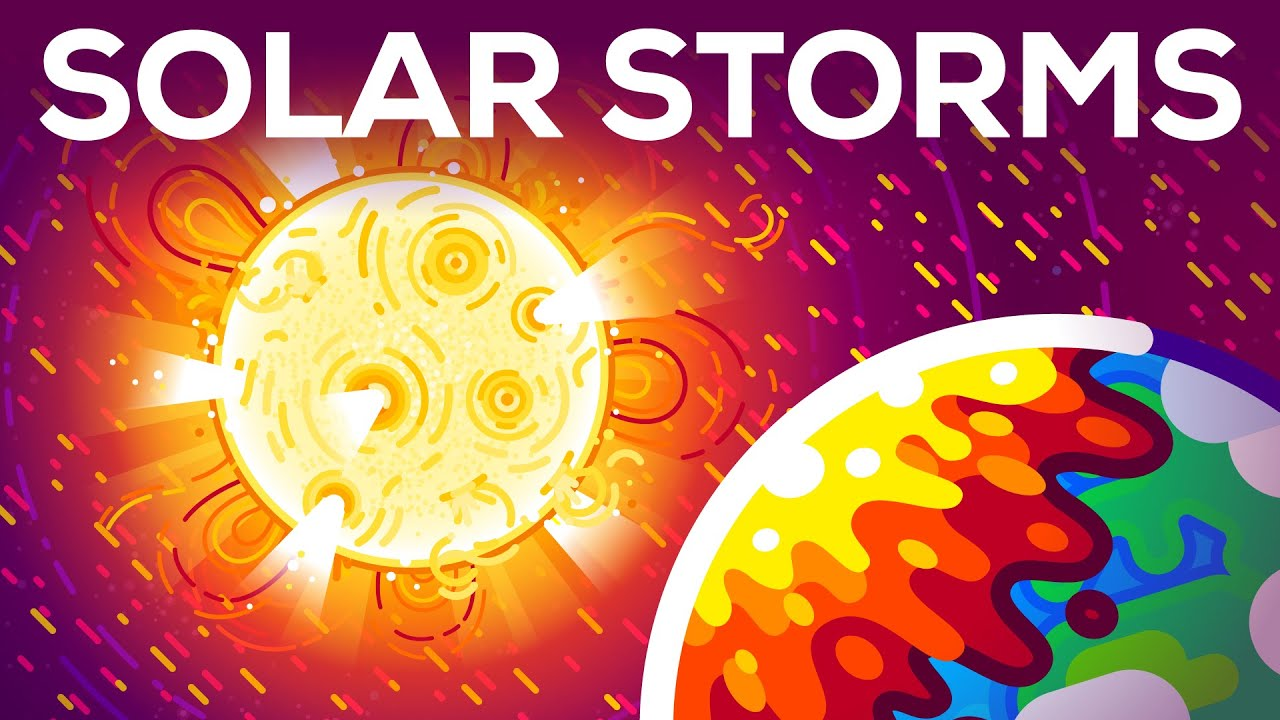 What is a solar flare and what happens when it hits earth?