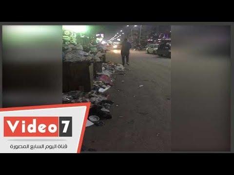 اليوم السابع :أكوام القمامة مأوى للكلاب والقط فى شوارع فيصل