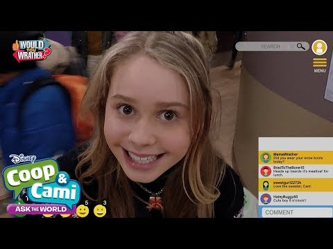 Cami's Holiday Drive | Coop & Cami Ask the World | Disney Channel