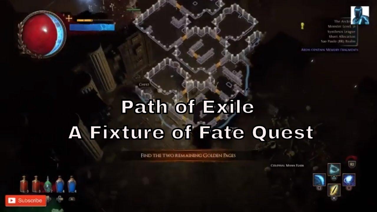 A Fixture Of Fate
