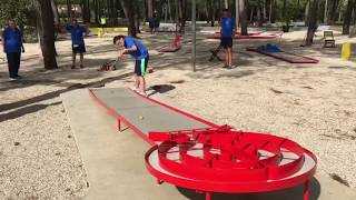 The Champions of Miniaturegolf (World Deaf Minigolf Championships 2017)