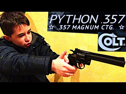 COLT PYTHON 357 CO2 BB REVOLVER with Robert-Andre!