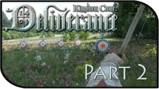 Kingdom Come: Deliverance Gameplay Part 2 - The Flute + Got our Bow! (Alpha Gameplay)
