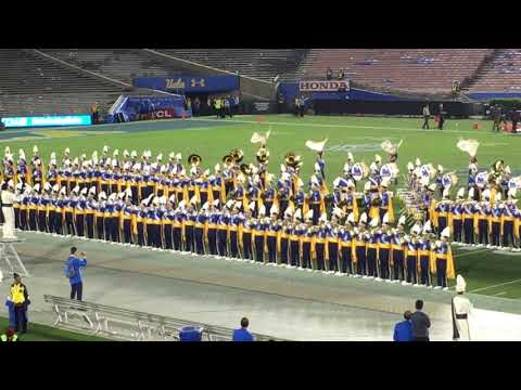 UCLA Marching Band performingPressure by Muse