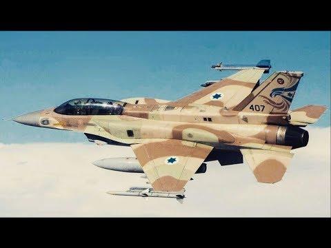 Israeli F-16 shot down after air raid in Syria