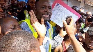 La Ville de Kinshasa : Les Gilets jaunes Congolais revendiquent leur cause