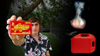 Huge Snapper Vs. Gasoline - Can they cause a fire? - SMS#3 thumbnail