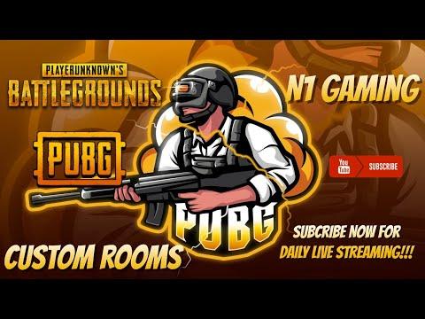 PUBG Mobile Live   Custom Room   N1 Gaming   TDM