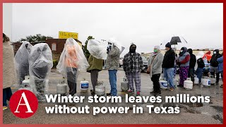 Winter Storm Leaves Millions Without Power in Texas
