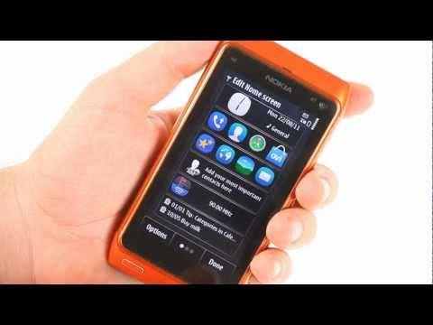 Nokia N8 (Symbian Anna) user interface demo