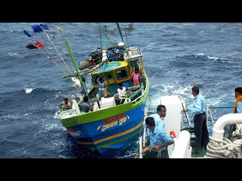 Twenty-three fishermen rescued from Diego Garcia