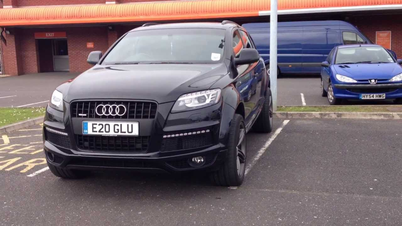 RARE! Audi Q7 ABT AS7 SPORTSLINE - YouTube