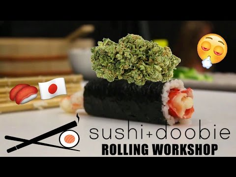 ROLLING JOINTS & WEED INFUSED SUSHI