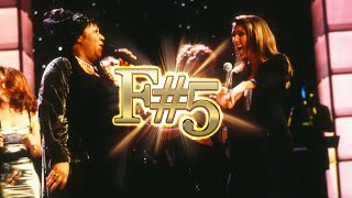Céline Dion and Aretha Franklin: F#5 Note by note beautifully