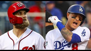 MLB Top 10 Free Agents of 2018
