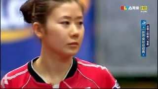 2015 Polish Open WS-QF: LIU Shiwen - FUKUHARA Ai [HD] [Full Match/Chinese]