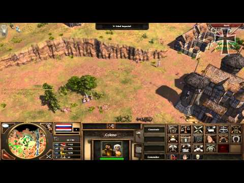 Age of Empires III: Asian Dynasties - 4ª Partida Multijugador - Nahuel ...