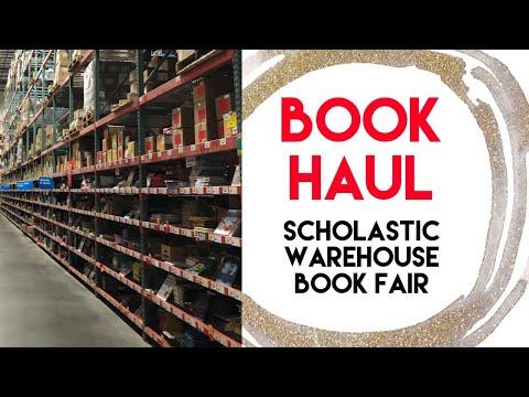 Book Haul - Warehouse Book Fair Scholastic - Homeschool Supplies And Curriculum