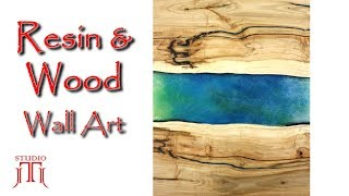 Resin & Wood - Wall Art - How it's Made