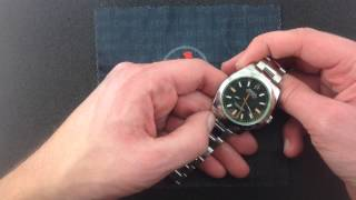 Rolex Oyster Perpetual Milgauss 116400GV Luxury Watch Review