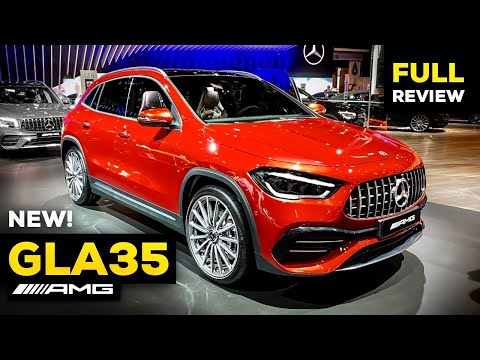 2021 MERCEDES GLA35 AMG NEW FULL Review WORLD PREMIERE Interior Exterior MBUX 4MATIC