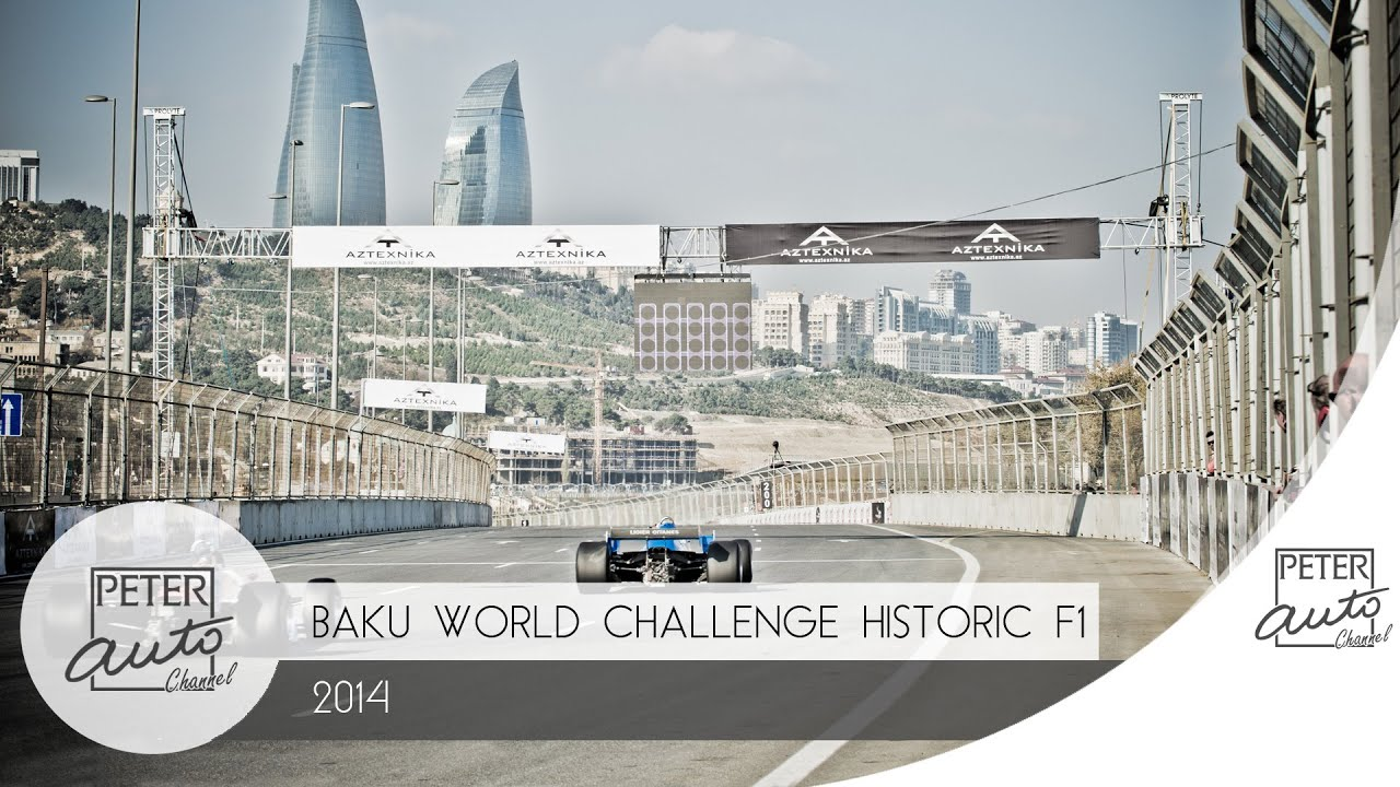 Circuito Urbano De Baku : F baku azerbaïdjan youtube