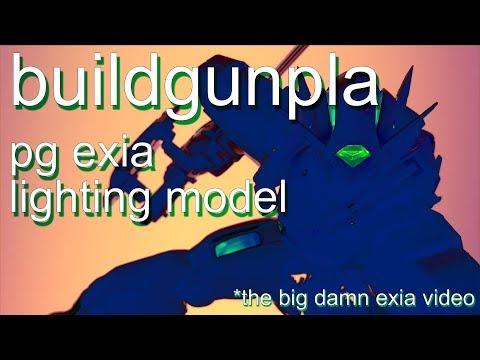 Buildgunpla - Perfect Grade GN-001 Gundam Exia (Lighting Model)