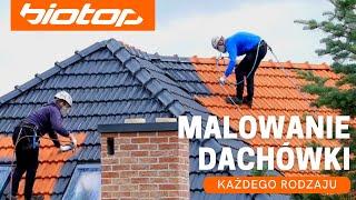 BIOTOP Mycie czyszczenie impregnacja malowanie dachów i dachówki Małopolska, Mazowsze, Śląsk