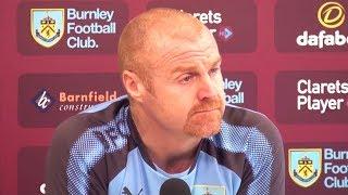 Sean Dyche Full Pre-Match Press Conference - Burnley v Leicester - Premier League