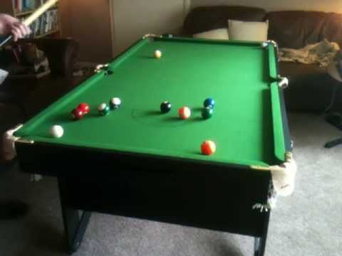 Ft Bce Lay Flat Snooker Table YouTube - Six foot pool table