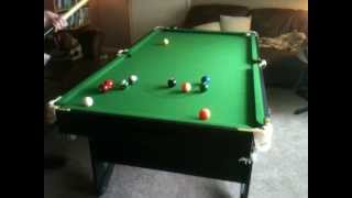 6 Ft Bce Lay Flat Snooker Table