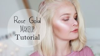 Hey guys! Here is my rose gold makeup look! I hope you enjoy it! Co...