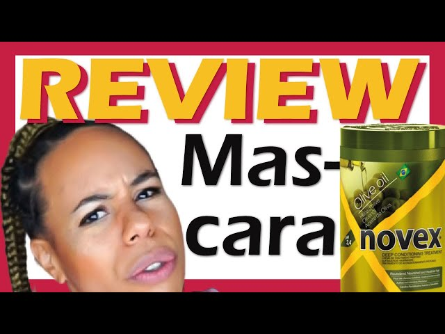 REVIEW MASCARILLA NOVEX ACEITE DE OLIVA 🙄 tratamiento Olive oil hair mask