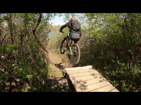 Today's ride around Meewasin Trail.