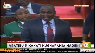 Kimani Ichungwa: We need to support this bill in a way that our budget is balanced #FinanceBill2018